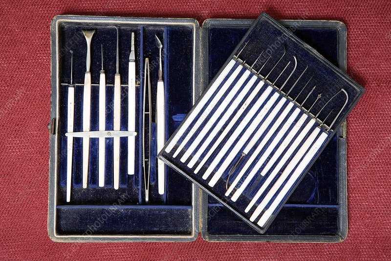 Historical surgical instruments