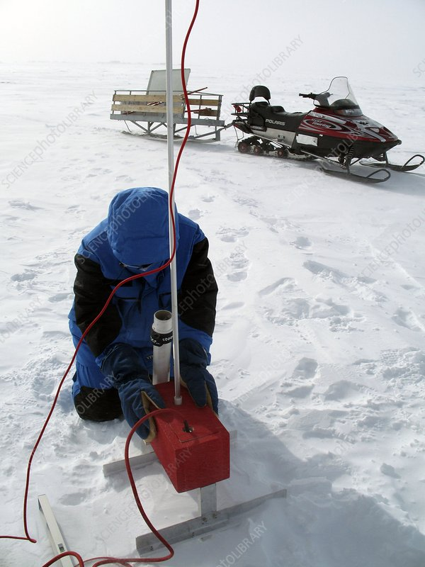Antarctic surveying
