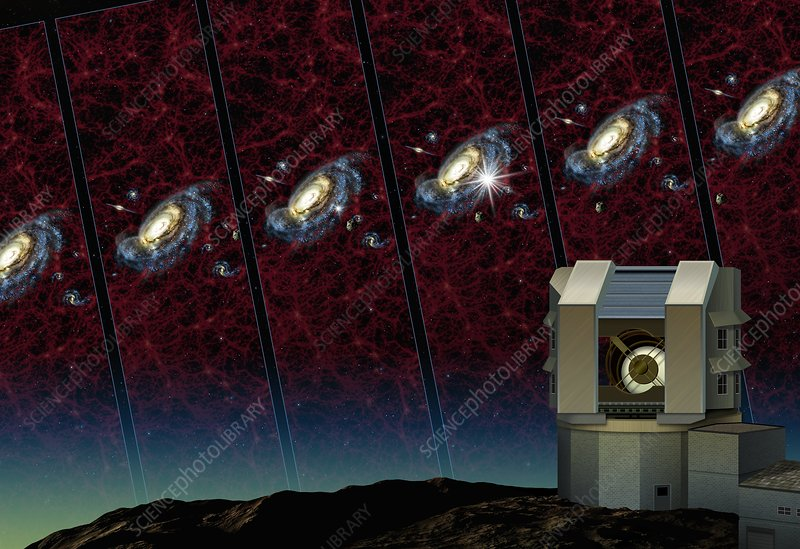 Large Synoptic Survey Telescope, artwork