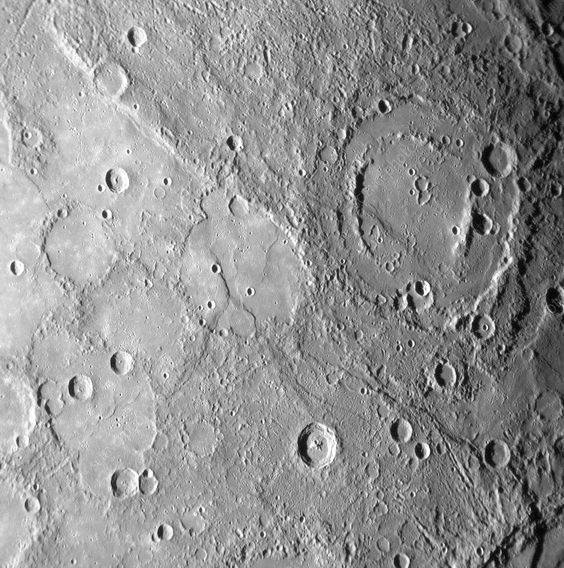 Mercury, MESSENGER January 2008 flyby