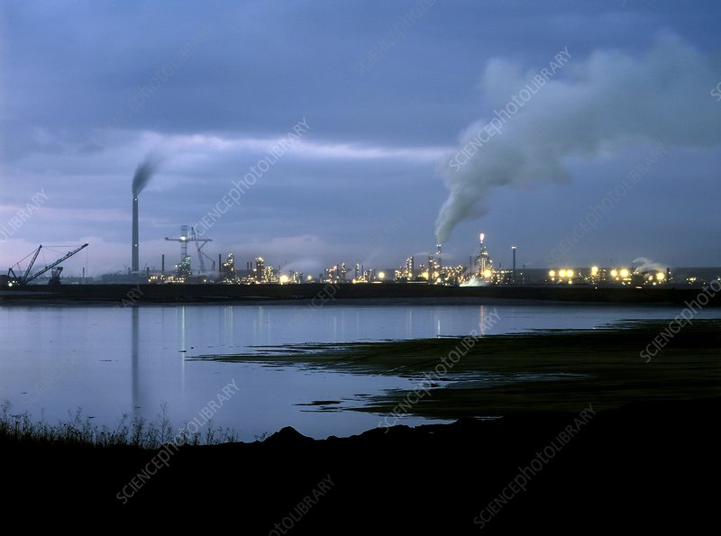 Oil sands refinery, Canada