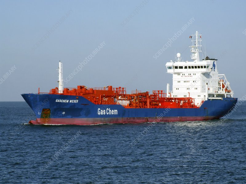 Fuel and chemical tanker