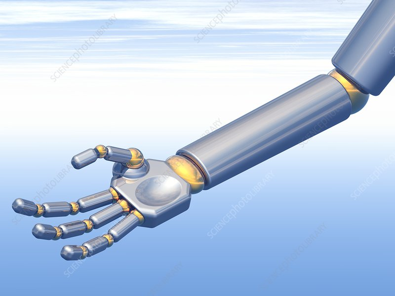 Robot hand, artwork