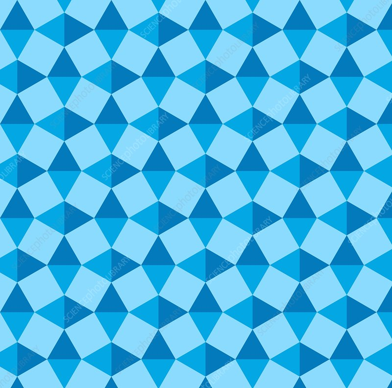 Uniform tiling pattern