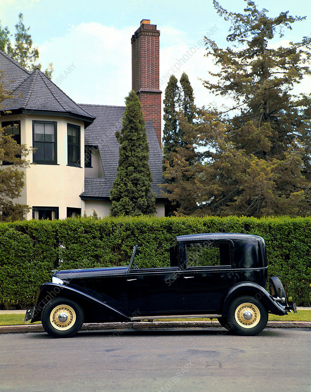 1934 Ford Brewster Town Car