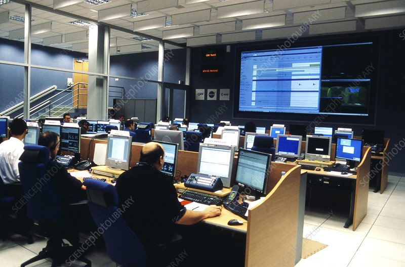 Automated Transfer Vehicle control centre