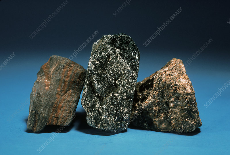 Different Aggregate Types of Hematite