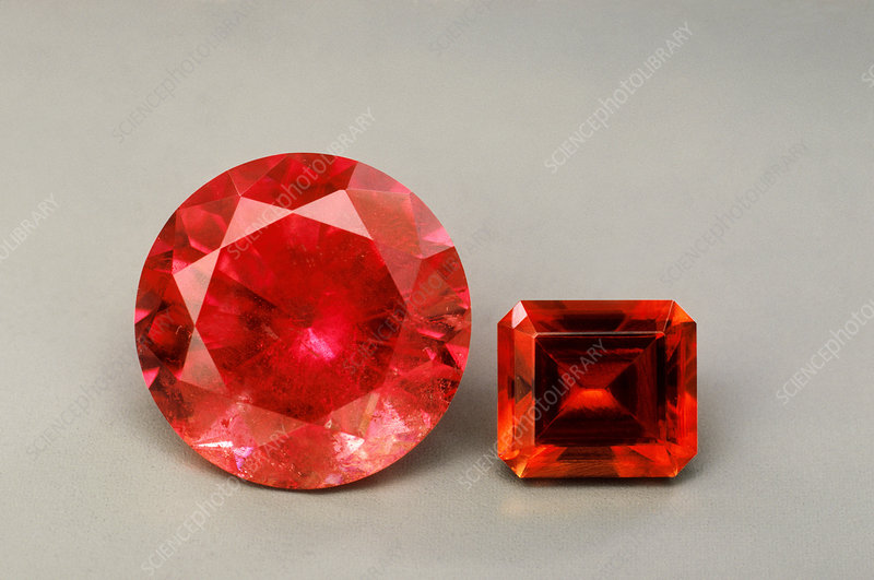 'Rhodochrosite, Colorado and South Africa'