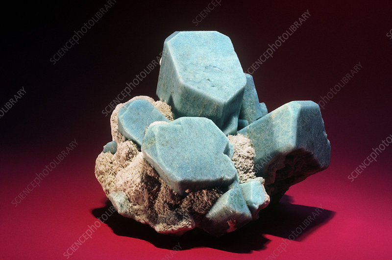 'Amazonite from Florissant, Colorado'