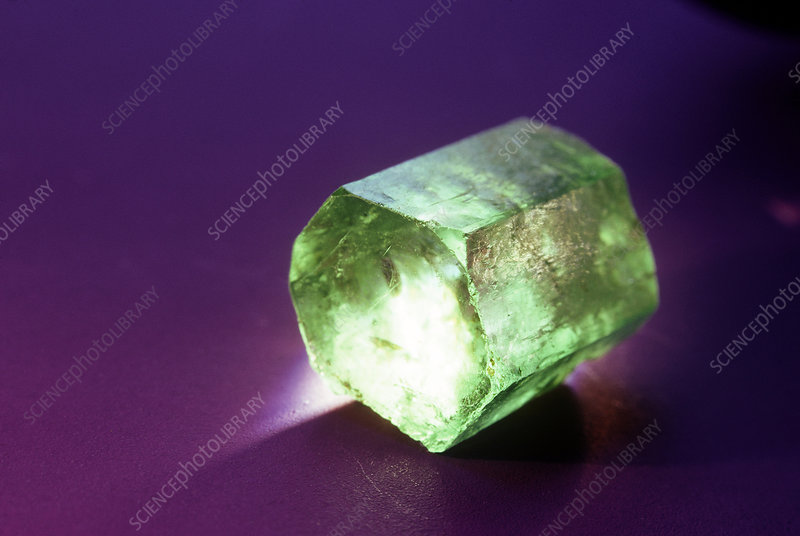'Beryl, variety emerald, from Colombia'