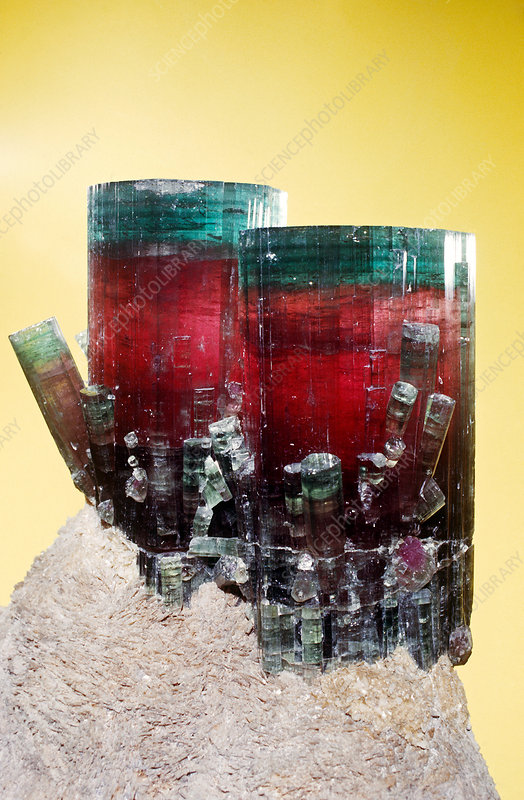 'Tourmaline (elbaite) from Pala, California'