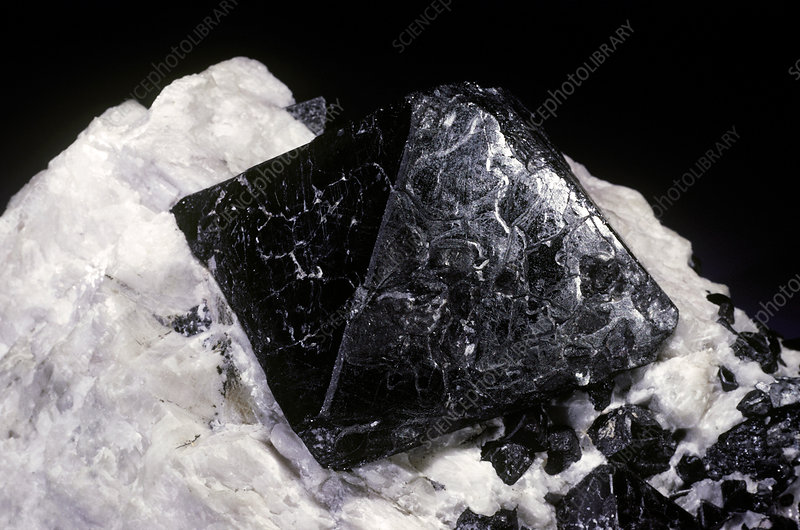 'Franklinite from Franklin, New Jersey'