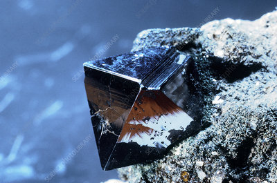 'Magnetite from Binnenthal, Switzerland'