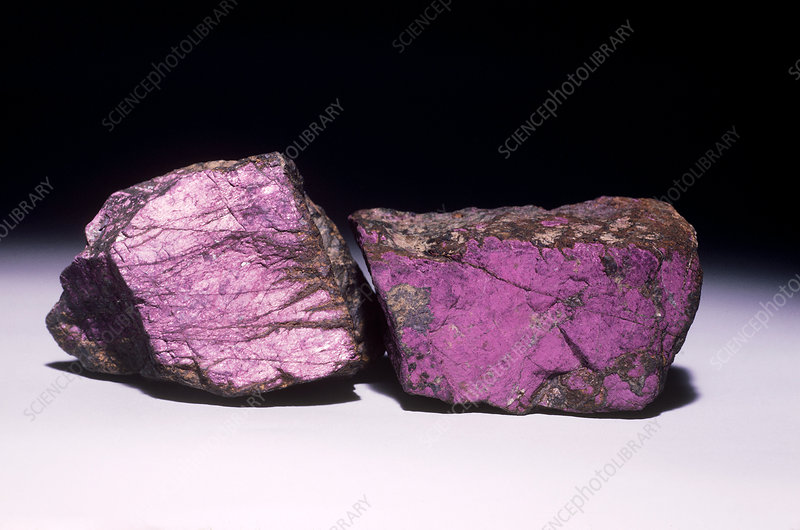 'Purpurite from Usakos, Namibia'