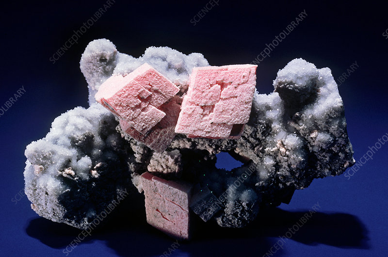 'Rhodochrosite from Silverton, Colorado'
