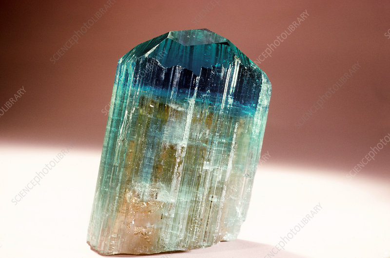 Tourmaline (elbaite) from Brazil