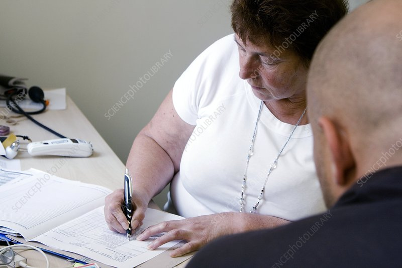 Consultation at obesity clinic