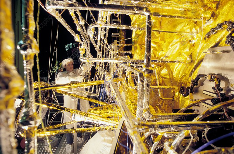 Satellite construction, mylar insulation