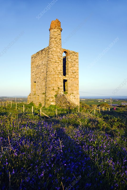 Disused mine engine house, Cornwall