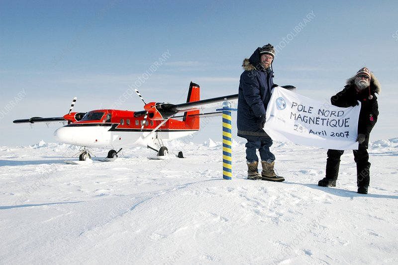 Magnetic north pole research