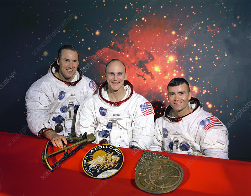 Original Apollo 13 Crew
