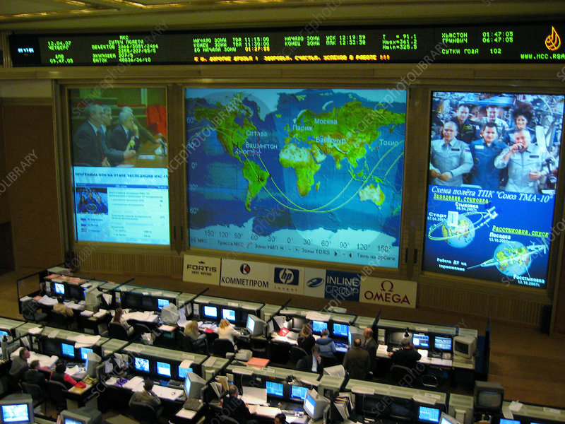Russian Mission Control Center