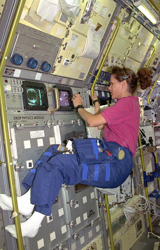 'Kathryn Thornton at DPM, STS-73'