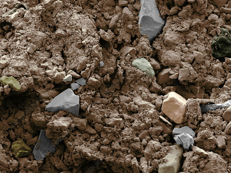 Garden soil stock image c001 5310 science photo library for Soil library