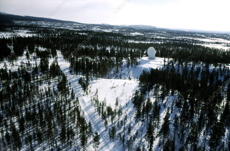 Satellite ground station, Sweden