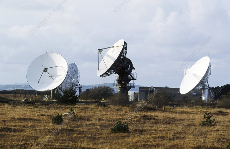 Goonhilly Satellite Earth Station, UK