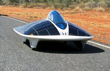 Honda Dream II, solar car