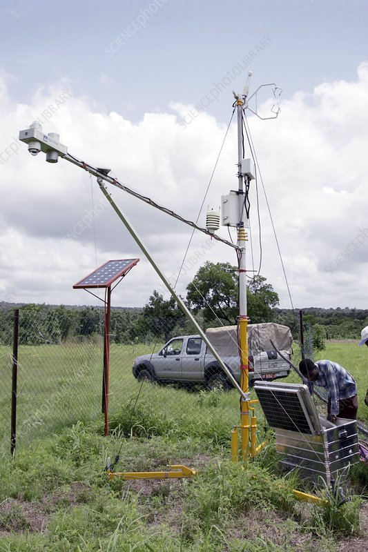 Evapotranspiration measurements, Benin