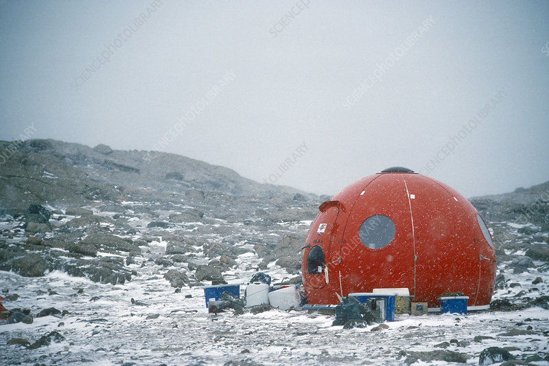 'Apple Hut, Antarctica'