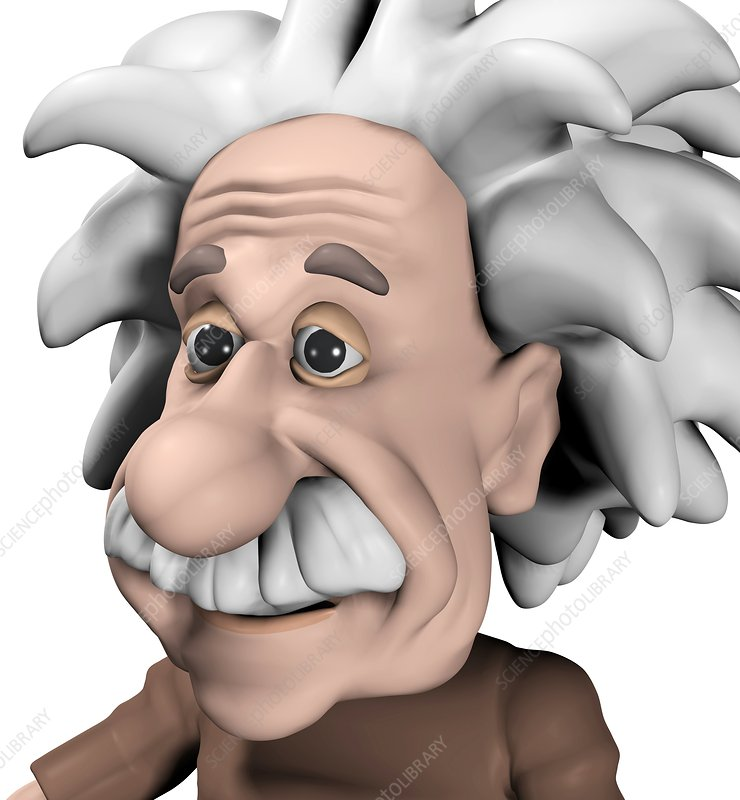 Albert Einstein, artwork