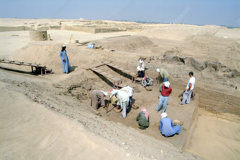 Egyptian archaeology, Al-Fayoum oasis