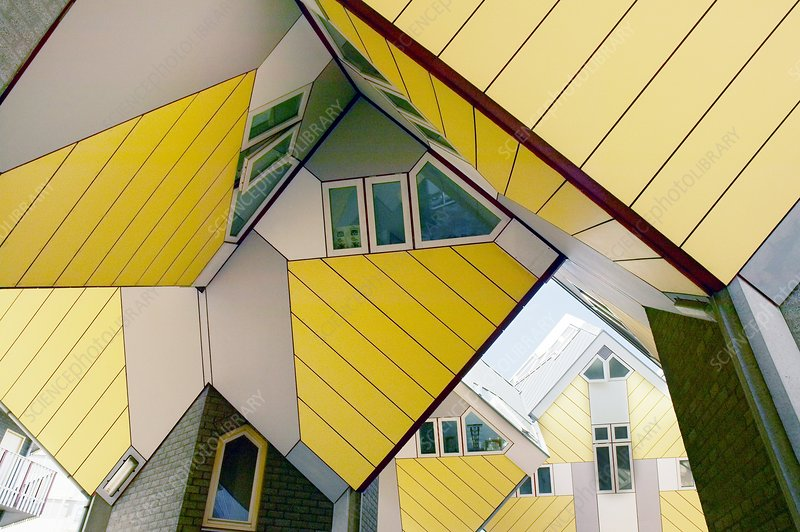 Cube Houses, the Netherlands