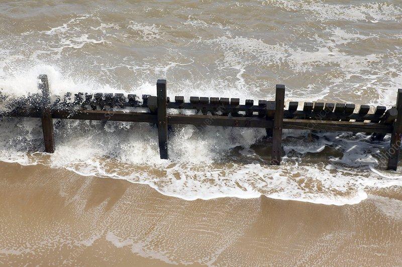 Coastal defences, Norfolk