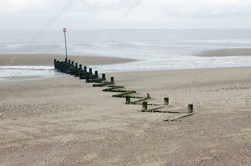 Coastal defences, Norfolk