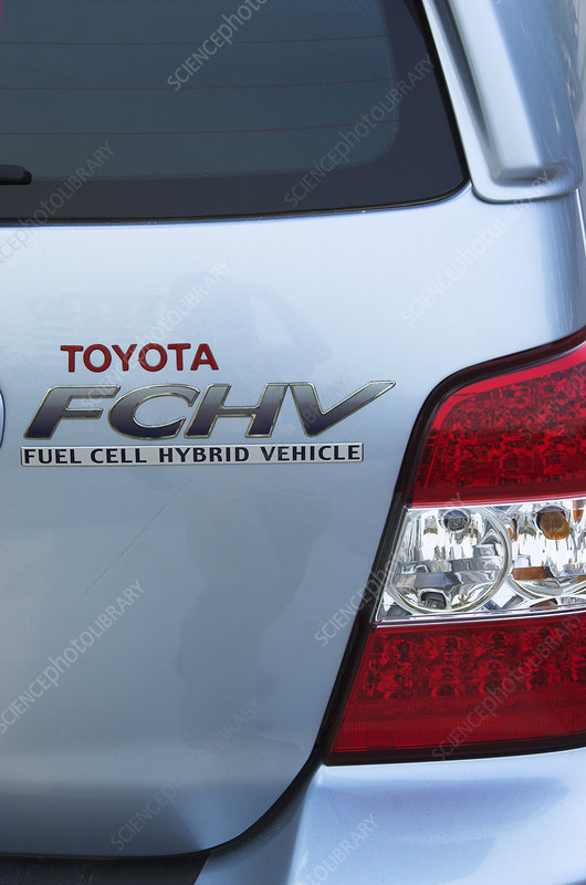 Hydrogen Fuel Cell Vehicle - Stock Image - C001/6462