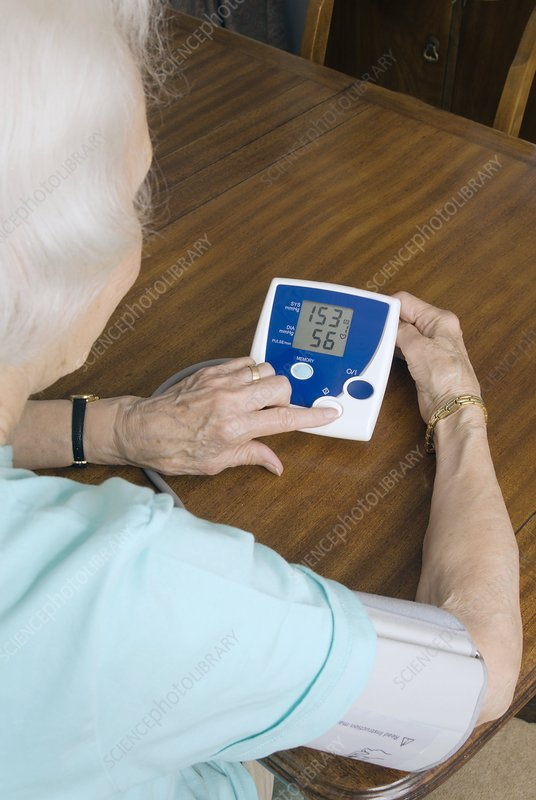 Home blood pressure testing