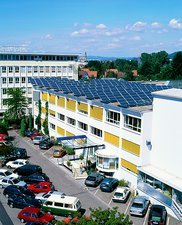 Rooftop solar panels, Germany