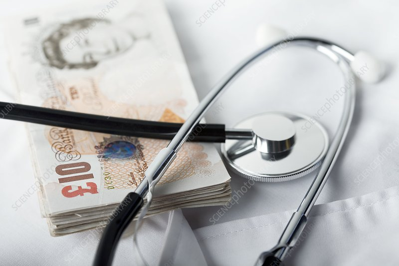Medical costs, conceptual image