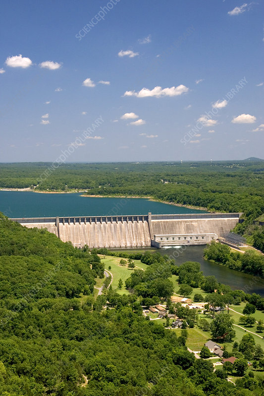 'Bull Shoals Dam, Arkansas'
