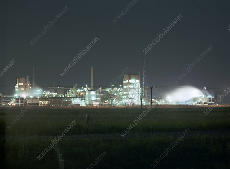 Huntsman Tioxide chemical plant
