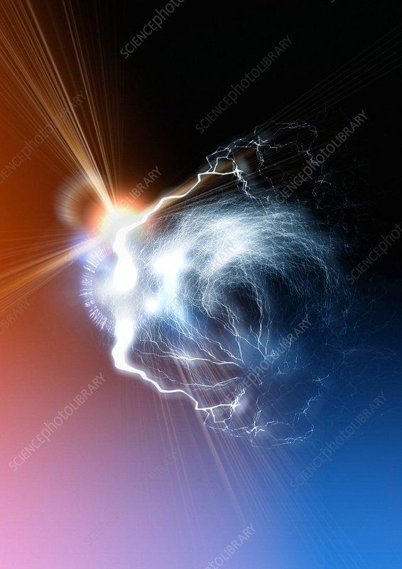 Ball lightning, artwork