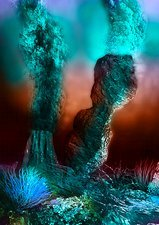 Hydrothermal vents, artwork