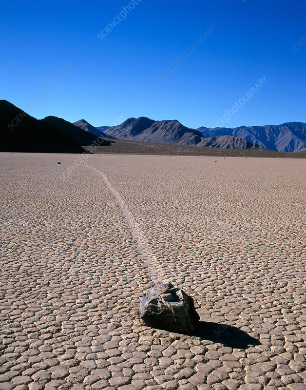 Sliding Rock at Racetrack Playa