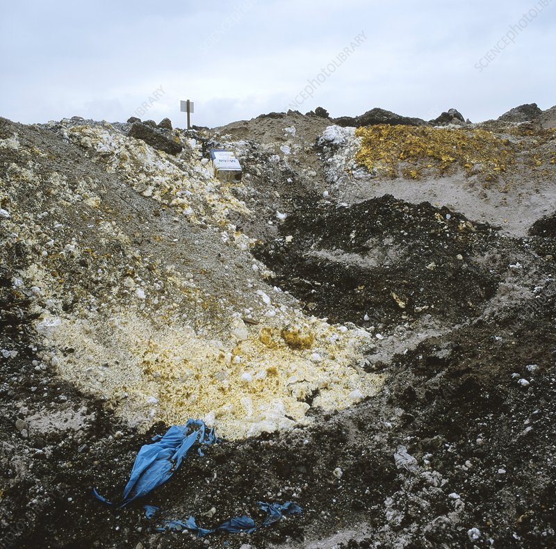Chemical waste landfill site