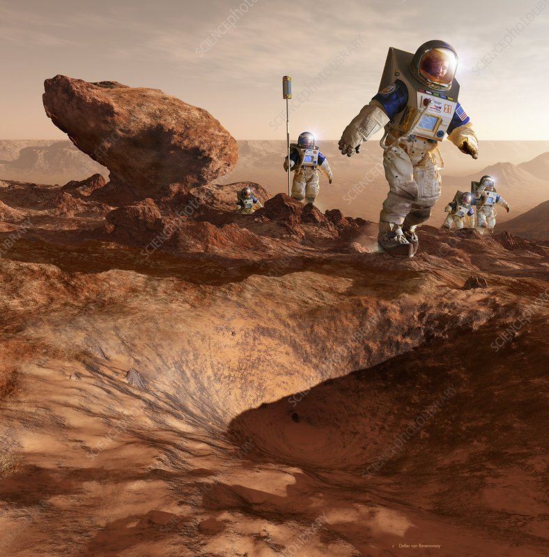 Space tourism on Mars