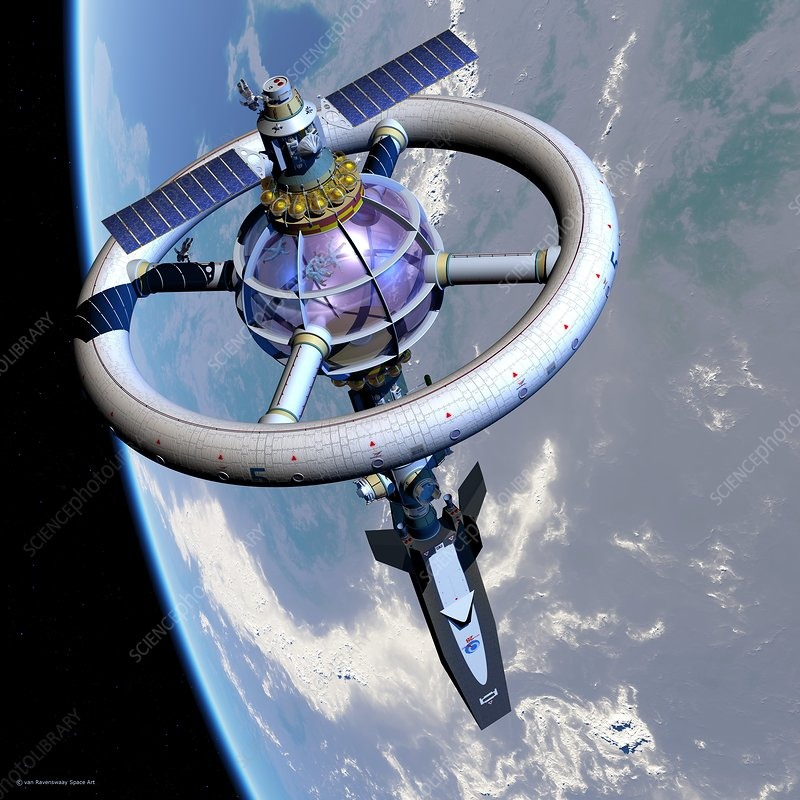 Space hotel
